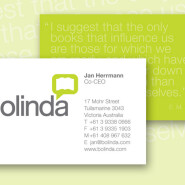 Bolinda Business Card