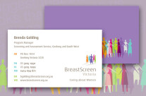 Breastscreen Business Card