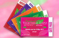 National Vegetable Expo Entry Passes