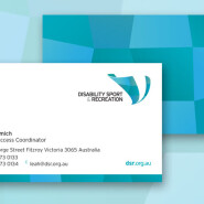 WCS Disibility Sports Business Cards